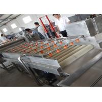 Wholesale Stainless Steel Bubble Fruit Washing Machine 1.5kw Power Easy Operation from china suppliers