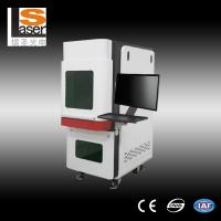 Buy cheap Mini 1064 nm portable fiber laser marking machines make Color on metal from wholesalers