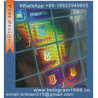 Buy cheap custom made serial number hologram sticker holographic label hologrm sticker from wholesalers