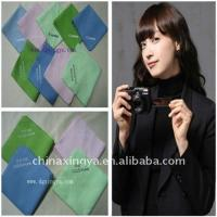 China soft  microfiber cleaning cloth for glass,LCD,camera on sale