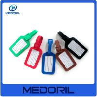 Wholesale High quality standard size pvc luggage tag custom funny luggage tag from china suppliers