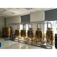 Buy cheap 50L 100L Teaching Laboratory Home Beer Brewing Equipment Experimental Facilities from wholesalers