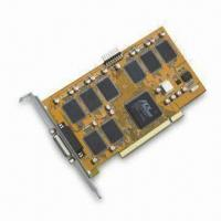 Wholesale PCI Real-time 8CH DVR Card that Supports Still-image Capture for JPG Format, PAL/NTSC System from china suppliers