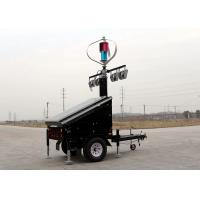 Buy cheap Mobile Energy Vehicle  Solar Wind Hybrid System  48V For  Trailer Power Supply from wholesalers