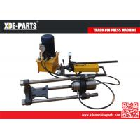 Buy cheap 100/150/200Ton Portable Hydraulic Track Link Pin Pusher Machine For Excavator&Dozer from wholesalers