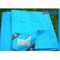 Buy cheap Digital Printing Waterproof Tarpaulin Sheet , 160g/sqm Weight HDPE Plastic Sheet product