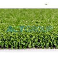 Outdoor Playgrounds Fake Grass Lawn , Waterproof High Elasticity Artificial Turf Grass