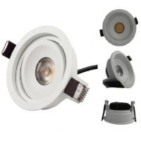 Wholesale LED Recessed Downlight Up Down light 7W COB Citizen Chip for Commercial Lighting 2700K - 6000K from china suppliers