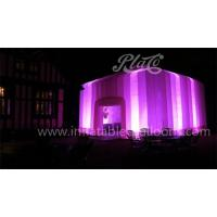 Buy cheap Color Changing Led Inflatable Cube Marquee Large Professional Digital Printing EN71 from wholesalers