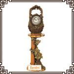 Buy cheap Antique floor clock silent clock / flower basket shaped clock 6600M+850M from wholesalers