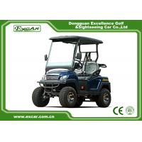 Buy cheap Four Wheel Fuel Type 48 Volt Electric Golf Carts 2 Seater , Charging Time 8-10 Hours from wholesalers
