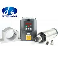 Buy cheap 2.2 Kw Inverter Water Cooled Spindle Motor ER20 For CNC Router from wholesalers