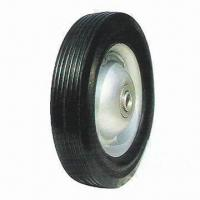 Buy cheap Solid rubber wheel with better wear resistance for greater durability from wholesalers