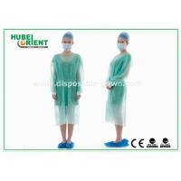 Buy cheap Disposable Protective Sterilized Surgical Gown / Disposable Isolation Gown with Knitted Wrist from wholesalers