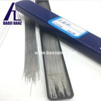 Buy cheap Straight tungsten wire, tungsten rod wire bright surface 200mm length for sale from wholesalers