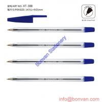 Buy cheap dollar store selling ball pen, dollar ball pen, stick ball point pen from wholesalers