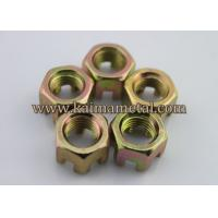 Buy cheap Full or non-full thread hexagon slotted nuts and castle nuts from wholesalers