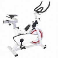 Buy cheap Fashionable spinning exercise bike with friction braking system and emergency lock for fitness from wholesalers