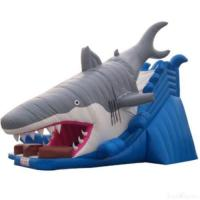 Wholesale Inflatable Shark Slide With Pool from china suppliers