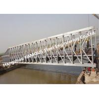 Buy cheap Multi-span Single Lane Steel Box Girder Bailey Bridges Structural Formwork Truss Construction from wholesalers