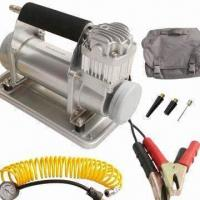Buy cheap Heavy Duty Air Compressor w/ 40mm Cylinder, 90L/min Output, 5m PU Air Hose and Completely Metal Body from wholesalers