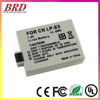 Buy cheap Manufacturer for Canon LP-E5 camera battery from wholesalers