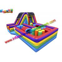 Buy cheap Attractive Inflatables Obstacle Course bounce house For Childrens And Adults from wholesalers