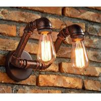 Buy cheap Iron Water Pipe Wall Sconce Light Bulbs Ac85-265v 50/60 Hz For Restaurant from wholesalers