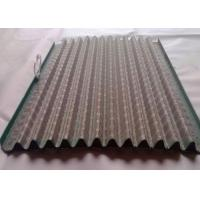 China Metal Frame  Shaker Screens , Stainless Steel Oil Filter Mesh With Hook on sale