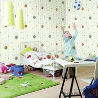 Buy cheap Best Selling Football Design Walllpaper Modern Chinese Manufacturer PVC Kids Room from wholesalers
