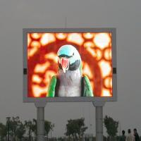 China Outdoor Advertising Led Display Full Color , 10mm Led display Module DIP 346 on sale