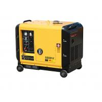 Buy cheap Home Diesel Powered Portable Generator Portable Size 5000 Watt Soundproof from wholesalers