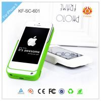 Buy cheap 3000mAh white Protect Solar Iphone Charger Case , apple iphone energy charger from wholesalers