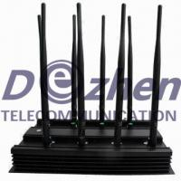 Buy cheap 8 Bands Adjustable GPS Signal Jammer 3G 4G LTE Phone WiFi Blocker VHF UHF All Frequency from wholesalers