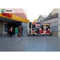 Wholesale Mobile 7D Movie Theater For Trailer Convenient In Shopping Mall Gate from china suppliers