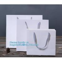 Buy cheap design luxury white custom brown craft recycle wine bottle carrier christmas packing bag gift shopping printed kraft pap from wholesalers