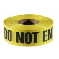 Buy cheap Caution Warning DANGER Tape Caution Tape Roll 3-Inch Non-Adhesive Sharp Red Color Warning Tape,Safety Caution PVC Materi from wholesalers