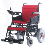 Buy cheap Popular Fold Up Disabled Electric Wheelchair , Motorized Chairs For Handicapped from wholesalers