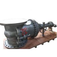 Wholesale DN800 Cast Steel Gate Valve WCB PN25 13CR Trim 32 Inch Rising Stem With Bypass Valve Z540 from china suppliers