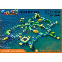 Wholesale 0.9mm Vinyl Custom Inflatable Water Parks For Outside Entertainment from china suppliers