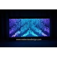 Buy cheap 8ftx5ft Digital water bubble wall programmed random water bubble panel for hotel KTV restaurant office bar SPA Mall from wholesalers