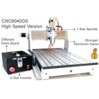 Buy cheap Assembly USB 3 Axis Advanced Mini CNC Router 6040 / 1.5KW Spindle 2.2KW Invert CNC Engraver Machine from wholesalers
