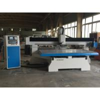 Buy cheap 9KW Metal Moving Table CNC Router Machine High Speed With CE Certification product