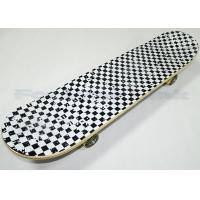 Buy cheap 31 Inch Long Heat Transfer Maple Wood Skateboards Printed On 80s Black Grip Tape from wholesalers