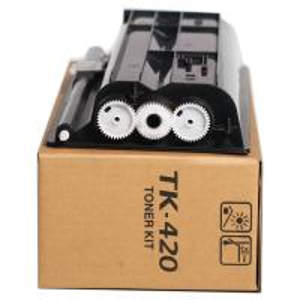China 870g Premium Laser Printer Toner TK420 Without Chip For Kyocera Mita KM - 2550 on sale