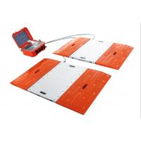 Buy cheap Dynamic Portable Vehicle Scales High Strength Alloy Aluminum Material from wholesalers