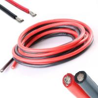 Buy cheap Red UL3223 Silicone Rubber Coated Wire , Flexible Rice Cooker Wire Weather Resistance from wholesalers