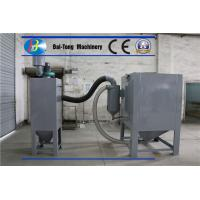 Buy cheap Air Pressure 0.3 - 0.7MPa Sand Blast Cabinet Bags Type Dust Collecting from wholesalers