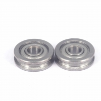 Buy cheap 4x13x4mm Carbon Steel U604ZZ U Groove Pulley Wheels For 3D Printer from wholesalers