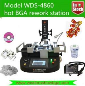IR BGA rework station WDS 4860 for intel celeron 1037u latop motherboard repairing